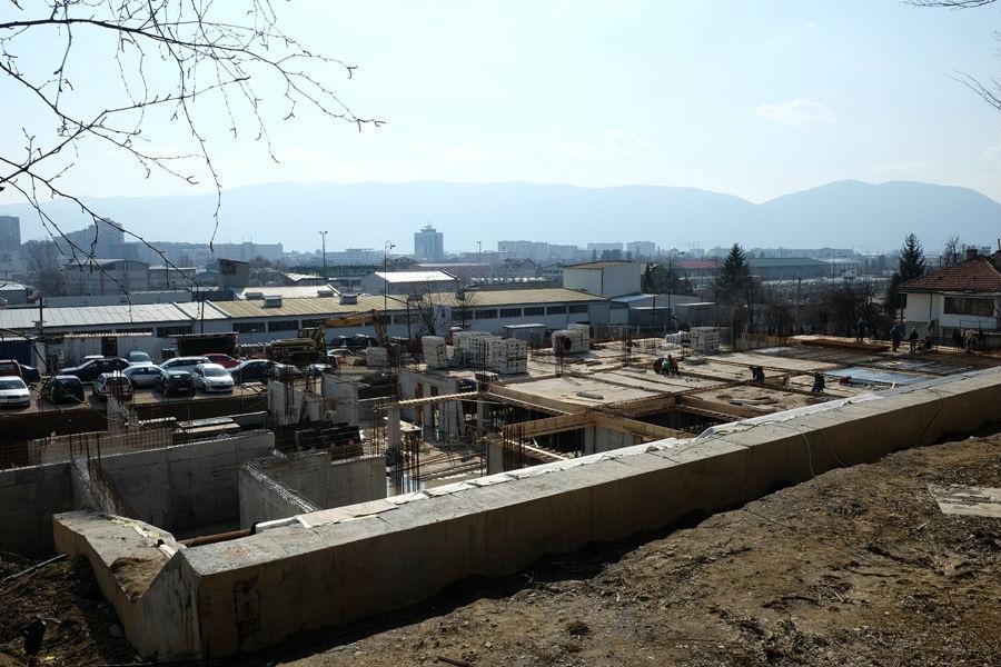 Gradi se konstrukcija objekta sportske dvorane u Boljakovom Potoku