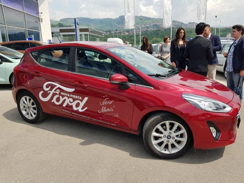 Neno Murić zaštitno lice nove Ford Fieste