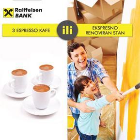 Raiffeisen nenamjenski krediti dostupni su u iznosu do 50.000 KM te sa rokom otplate do 10 godina.