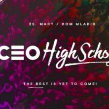 CEO High School konferencija 25. marta u Domu mladih