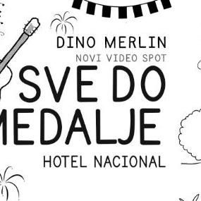 "Premijera video spota Dine Merlina za pjesmu ""Sve do medalje"""