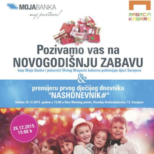 Novogodišnji poklon djeci Sarajeva