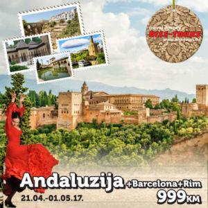 Krenite na nezaboravno putovanje u magičnu Andaluziju!