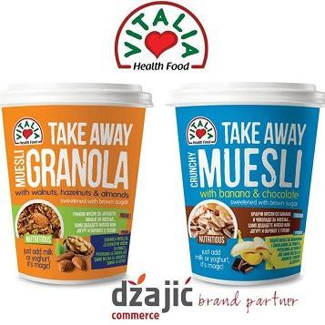 Novo u ponudi tvrtke Džajić – 'Vitalia Take away žitni obroci'