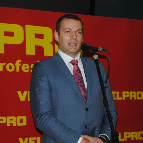 Today, at the Velpro center Sarajevo, was marked 10 years of the Velpro wholesale network in BiH, which operates as part of the commercial company Konzum.
