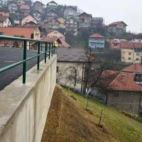 Završena sanacija klizišta u ul. Hekim Oglu Alipaše u Boljakovom Potoku