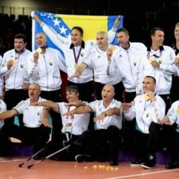 Bosna i Hercegovina prvak svijeta u sjedećoj odbojci