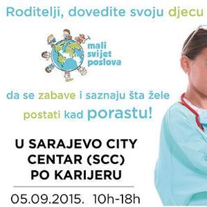 Mali svijet poslova - zabavni i edukativni event za djecu i roditelje
