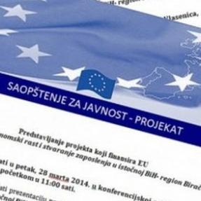 Predstavljanje projekta zapošljavanja u istočnoj BiH-region Birač