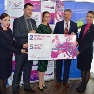 Prisutni su prisustvovali i prezentaciji Avio-kompanije Wizz Air koja se stalno razvija.
