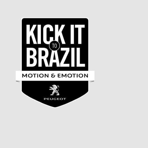 Peugeot lansirao avanturu fudbalske lopte KickittoBrazil