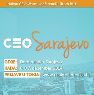 CEO konferencija - najveća konferencija za mlade u BiH