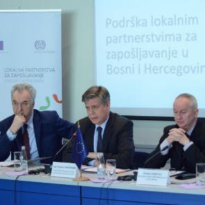 """Evropska unija osigurala je putem projekta nazvanog """"Podrška lokalnim partnerstvima za zapošljavanje u Bosni i Hercegovini"""" tri miliona eura."""