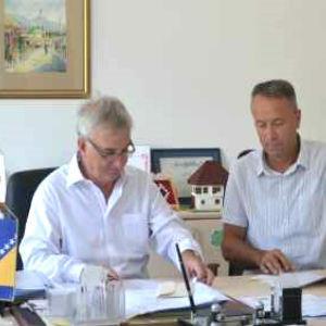 Potpisani ugovori za izgradnju infrastrukture na području Općine Ilijaš