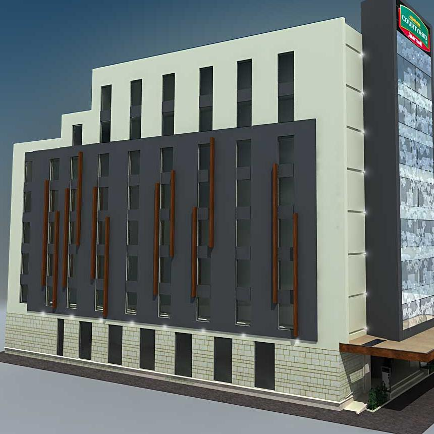 Na hotelu Courtyard by Marriott uskoro počinje postavljanje fasade