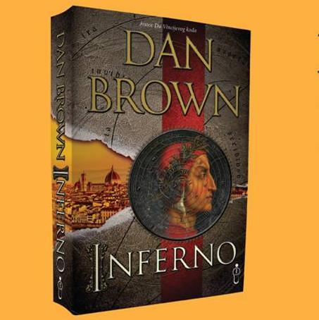 Novi roman Dana Browna u knjižarama Buybook. Inferno je četvrta knjiga Brownovog serijala u kojem je glavni lik profesor vjerske ikonologije i simbologije Robert Langdon.