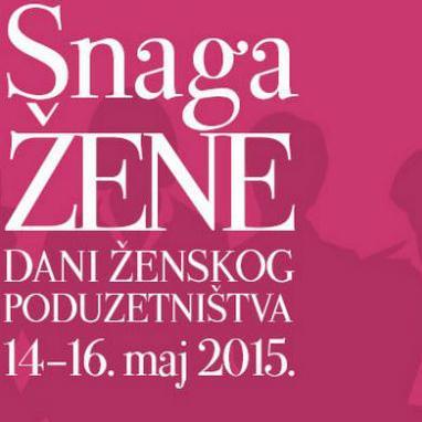 Sutra 'Dani ženskog poduzetništva 2015'