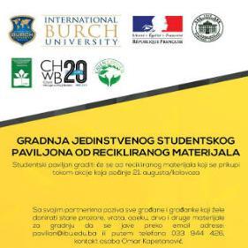 Gradnja jedinstvenog studentskog paviljona od recikliranog materijala u BiH