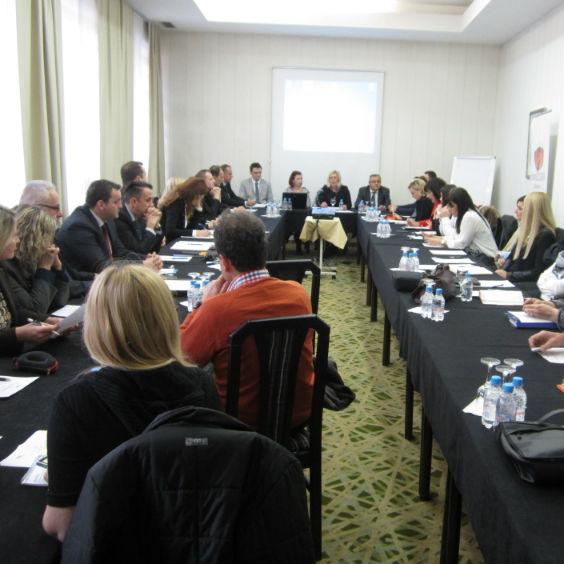 "The Foreign Investment Promotion Agency (FIPA) organized on 9 December 2014 in Sarajevo a round table on the topic: ""Proposals and Measures to Improve the Business Environment in Bosnia and Herzegovina"""