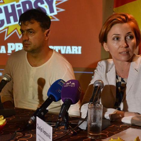 Sa Chipsyjem i Sergejem na utakmicu