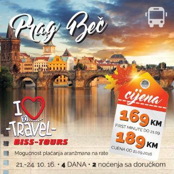 Posjetite Prag nekada zvan gradom stotinu tornjeva