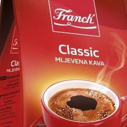 Franck Classic: Novi brend kafe osmišljen prema željama potrošača u BiH