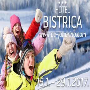 """Na najljepšem vidikovcu planine, izmedu jahorinskih vrhova i živopisne doline rijeke Prače, 1620 metara iznad mora nalazi se hotel """"Bistrica"""""""