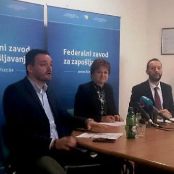 Federalni zavod daje 18 miliona KM za zapošljavanje 6.000 osoba
