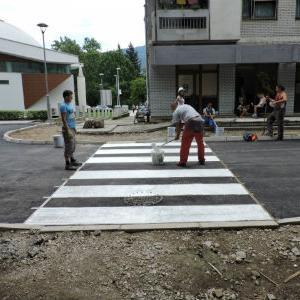 Nastavljena rekonstrukcija saobraćajnica u Jablanici
