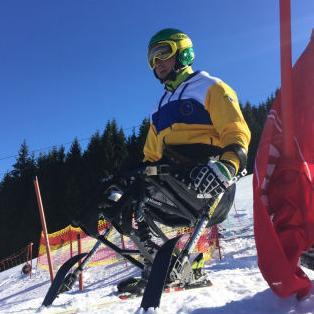 Prvi bh. paraolimpijac koji vozi super G utrku!