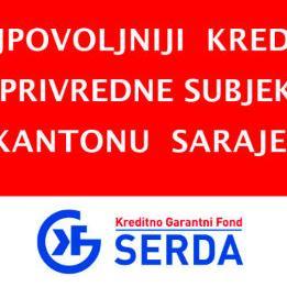 SERDA u saradnji sa KS i Union Bankom u okviru projekta Kreditno–garantni fond pruža najpovoljniju finansijsku podršku subjektima male privrede.