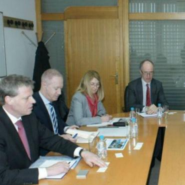Fokus razgovora stavljen je na značaj Koridora Vc, odnosno povezanosti Bosne i Hercegovine sa zemljama u okruženju.