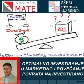 Optimalno investiranje u marketing i povećanje povrata na investirano