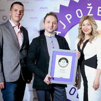 Nagradu je u ime grupacije Hifa primio Tarik Piljević, koordinator za marketing i nabavu u firmi Hifa-Petrol. Ovo je treći put u posljednjih par godina da se HIFA GROUP nalazi među najpoželjnijim poslodavcima u BiH.