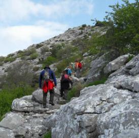 Sarajevski planinari na vrhu Mosora