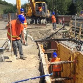 U toku radovi na izgradnji kanalizacione mreže u Bihaću