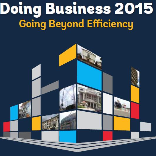 Bosna i Hercegovina je po Doing Business 2015 rangiranju pala sa 104. na 107. mjesto – uzimajući u obzir reviziju podataka i promjenu metodologije.