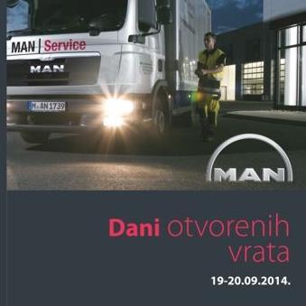 """Dani otvorenih vrata"" - MAN Tuck & Bus i MAN Servis-a"