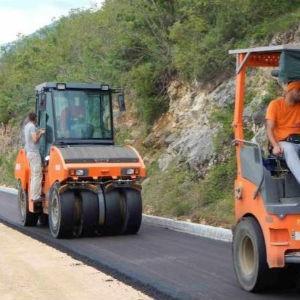 Livnoputovi vrši asfaltiranje puteva u Općini Prozor - Rama