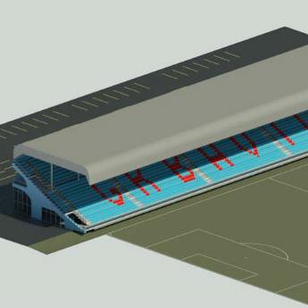 Pogledajte budući izgled istočne tribine stadiona Grbavica