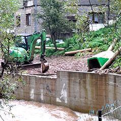 Nastavljeni radovi na postavljanju kanalizacije na Mošćanici