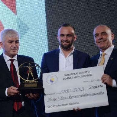 Amel Tuka sportista godine u izboru OKBiH