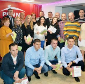 Povodom kraja uspješne poslovne godine firma Penny plus d.o.o. Sarajevo je organizovala novogodišnju zabavu za svoje uposlenike.