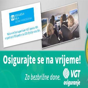 VGT donira 10% vrijednosti vaše PZO police za SOS Dječija sela BiH