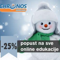 Novogodišnji popust 25% na sve edukacije