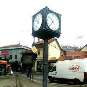 Na Baščaršijskom trgu postavljen javni gradski sat