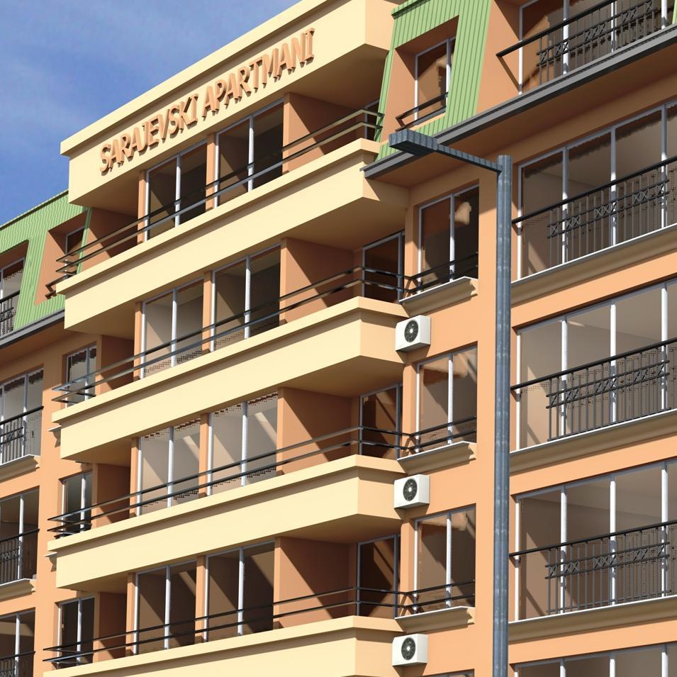 Ilidža dobija moderni stambeno-poslovni objekat Sarajevski apartmani