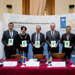 """Danas je u sarajevskom hotelu """"Europe"""", u okviru projekta """"Zeleni ekonomski razvoj"""" (Green Economic Development, GED), koji provodi UNDP."""