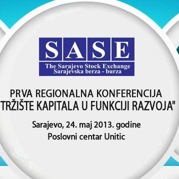 U Sarajevu Prva regionalna konferencija o tržištu kapitala