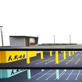 Garaža bi se gradila prekoputa Vijećnice, u ulici Avdage Šahinagića.